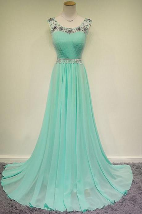 Real Photos Turquoise Prom Dresses with Rhinestones vestido formatura longo Backless Long Imported Party Dress Cheap CS525